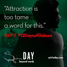 On the seventh day of Gideon my lover said to me…#12DaysofGideon