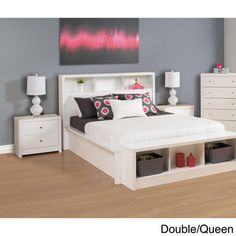 Nolita Pure White Headboard | Overstock.com Shopping - Big Discounts on Prepac Headboards (available in King as well)