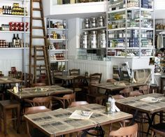 """Its design reminds of old days but with a modern twist. Offers lots of hand-made """"meze"""" made from recipes and ingredients all over Greece. To drink: Huge traditional """"ouzo"""" and """"tsipouro"""" labels. The best choice for lunch, go only in your finest mood."""