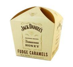 Jack Daniel's Tennessee Honey Fudge Caramels 250g 8.8 oz