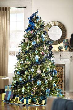 Peacock Tree Topper - Christmas Tree Toppers - Christmas Tree Trim - Holiday | HomeDecorators.com