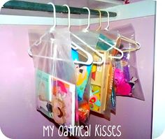 My Oatmeal Kisses: A Spin on Quiet Time Boxes-instead of storing bins for each day, use bags and put the contents in one box that you use each day.  Takes less space.