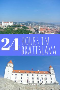 Itinerary for 24 perfect hours in Bratislava, Slovakia. Bratislava is the perfect destination for a quick day trip or weekend getaway. Check out our itinerary. By A Pair of Passports Travel Tours, Europe Travel Tips, Travel Guides, Places To Travel, Travel Destinations, Overseas Travel, Travel Stuff, Travel Hacks, River Cruises In Europe