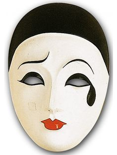 MASCHERA PIERROT  pierrot  maschera  carnevale  tradizione   mascheraItaliana  carnevaleMadeInItaly  carnevaleItaliano 95d0d6c5729f