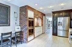 45 Best Kitchen Brick Images Kitchens Brick Wall