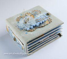 Dorota_mk: Kolejny... Mini Scrapbook Albums, Baby Scrapbook, Mini Albums, Diy Paper, Paper Crafts, Minis, Book Making, Mini Books, Scrapbooking Layouts