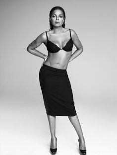 Janet Jackson Photographed by Ruven Afanador for Vanity Fair Italy, 2006.