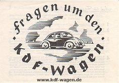VW - 1939 - Fragen um den KdF-Wagen - [1292]-1