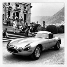 Jaguar E type racer