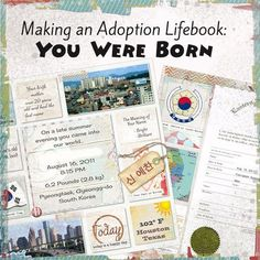 First in the series looking at how to create an Adoption Lifebook to document the journey of an adoptee to their forever family.