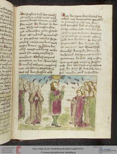 Cod. Pal. germ. 60: Historienbibel ; Irmhart Öser ; 'Brandans Reise' u.a. (Südwestdeutschland, um 1460), Fol 156r