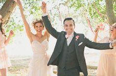 Pretty in Pink Wedding Inspiration Bespoken in blush by Claire La Faye www.clairelafaye.com