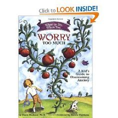 Book: What to Do When You Worry Too Much: A Kid's Guide to Overcoming Anxiety (What to Do Guides for Kids) Guides children and parents through the cognitive-behavioral techniques most often used in. Stress Management, Behavior Management, Worrying Too Much, Notes To Parents, Overcoming Anxiety, Anxiety In Children, Young Children, Helping Children, Gifted Kids