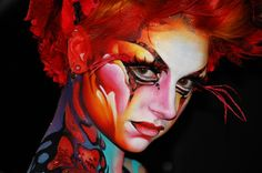 Stick Art Studio » Body Painting para MAKE UP FOR EVER CANADÁ - blog