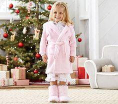 Fleece Robe, Pink #pbkids