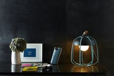 incipit brings the work lamp indoors with tull series