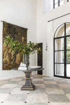 European Decor, European Style Homes, Interior And Exterior, Interior Design, Vogue Living, Home Decor Inspiration, House Tours, Decoration, Decor Styles