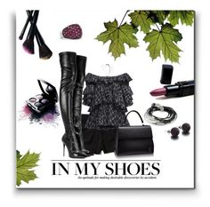 """""""Come To The Dark Side"""" by deborah-simmons ❤ liked on Polyvore featuring Abercrombie & Fitch, Tome, Cluny, Avon, Alexander McQueen, Mary Kay, Bobbi Brown Cosmetics, Lizzy James, SHIMLA and David Yurman"""