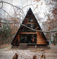 toit en pente cabane design #maison #house