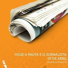 Feliz dia do Jornalista! 📰  #DiaDoJornalista #AgenciaVision #VisionDesign #DiaDoJornalistaVision