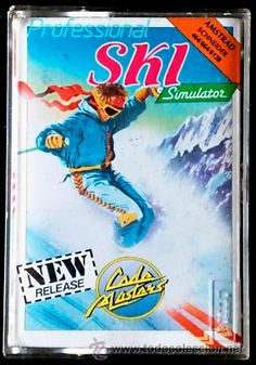 Juego Amstrad CPC Cinta - Ski (1987)