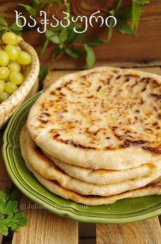 Chaczapuri z serem Small Meals, Pancakes, Rolls, Food And Drink, Bread, Cooking, Breakfast, Ethnic Recipes, Brot