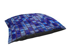 Thumbprintz Fleece Top Large Breed cat Bed, Damask Tiles Blue -- Tried it! Love it! Click the image. : Cat Beds and Furniture
