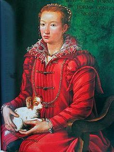 Portrait de Anna de Médicis