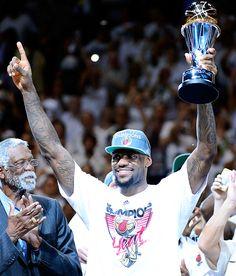 LeBron James NBA Finals MVP Miami Heat