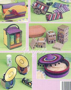 Mexican Kitchen Accessories Plastic Canvas Patterns   eBay