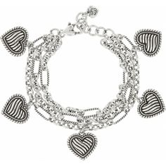Brighton Resort Resort Heart Charm Bracelet - What an awesome farewell pressie from my girlfriends in Celebration!