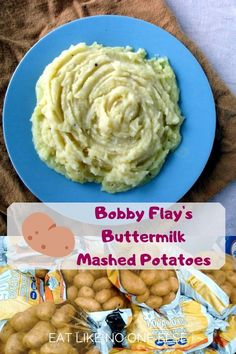 Bobby Flay's Mashed Poattoes with Buttermilk recipe are the perfect mashed potatoes to make for thanksgiving. Made with Yukon Gold potatoes. Bobby Flay Recipes, Chef Recipes, Veggie Recipes, Food Network Recipes, Cooking Recipes, Skillet Recipes, Wing Recipes, Pizza Recipes, Recipies