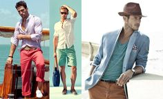 Fashionableman   Moda męska » Stylizacja Beach Boy vol.1