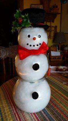 Fish bowl snowman-no link