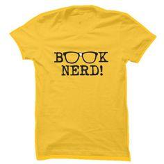 Book Nerd T Shirts, Hoodies, Sweatshirts. CHECK PRICE ==► https://www.sunfrog.com/Geek-Tech/Book-Nerd-10716243-Guys.html?41382