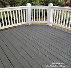 Restore Deck liquid armor--diy before & after