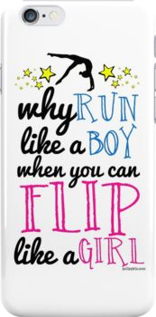 Gymnastics - Flip Like a Girl by gollygirls