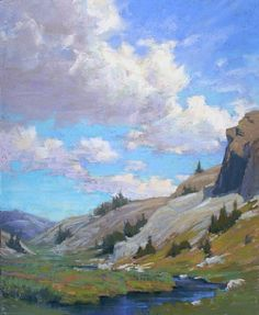Possibilities, Above Lake Ediza by Kim Lordier Pastel ~ 20 x 16