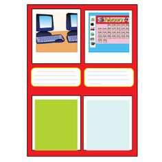 Take photos and add notes for a visual reference for the substitute teacher.