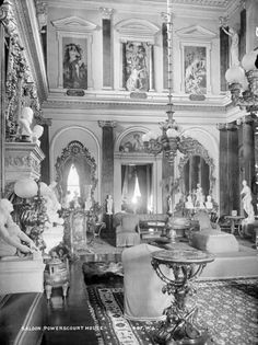 Shop and Dine at Powerscourt House, Wicklow. Meander the charismatic stores and the craft and designers stores in our Interiors Gallery. Ireland Homes, House Ireland, Interesting Buildings, Blue Books, Beautiful Interiors, Places Ive Been, Beautiful Places, Tumblr, Palaces