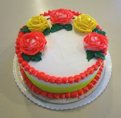 #Orange and #yellow cake #wedekingsbakery