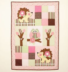 BABY NURSERY PATTERN / Make Infant Quit and by whatcamefirst
