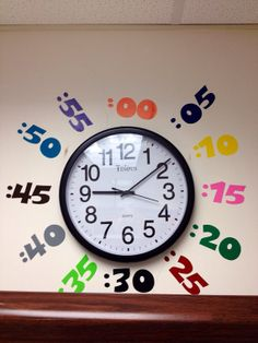 Classroom Clock Vinyl Numbers Help your students learn to tell time on Etsy, $20.00