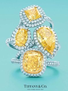 001 Tiffany yellow stones