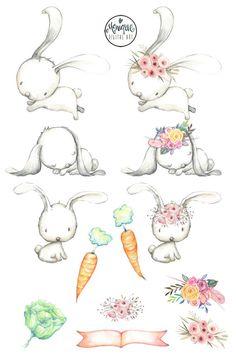 Rabbit clipart bunny