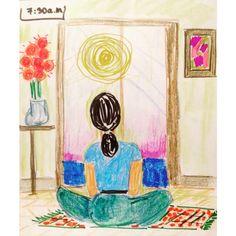 #ilustracion #RuthAlvarez #dibujo #arte #collage #acuarela