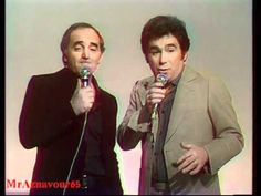 ▶ Charles Aznavour chante Les don juan avec Claude Nougaro - 1978 - YouTube