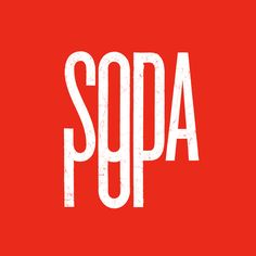 """Soda Pop""    Wordplay by David Schwen"