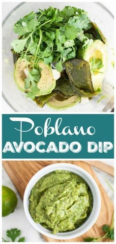 Poblano Avocado Dip Poblano Avocado Dip The Rustic Foodie Gluten Free Party Recipes This Poblano Avocado Dip recipe is healthy and easy nbsp hellip Avocado Dip, Avocado Recipes, Dip Recipes, Sauce Recipes, Party Recipes, Appetizer Recipes, Poblano Recipes, Party Desserts, Recipies
