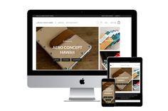 AERO CONCEPT HAWAII WEBSITE | ラララライフ | LLLLIFE INC
